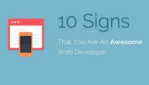 10 segnali per Web Developer