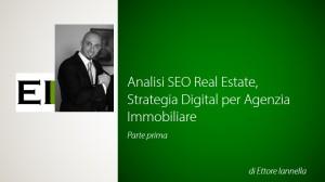 Analisi SEO Digital Marketing, Ettore Iannella