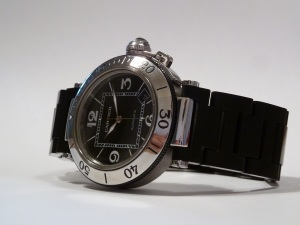 Cartier Pasha Seatimer 2790 Rubber Side