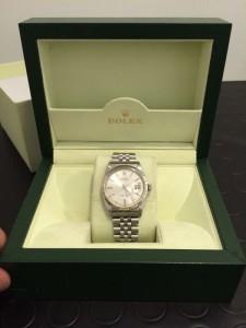 Rolex Datejust 1601 Argento Ettore Iannella